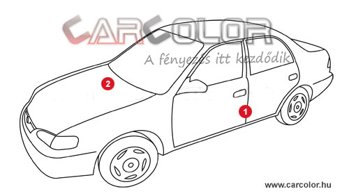 Mazda Színkód  Mazda mazda szinkod