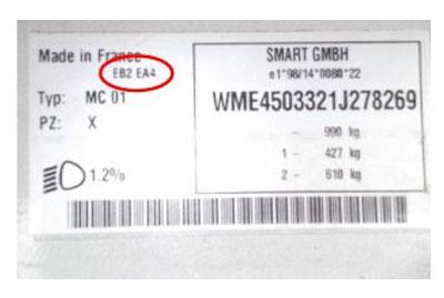 Smart Színkód tábla  Smart smart szinkod tabla