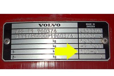 Volvo Színkód Tábla  Volvo színkód volvo szinkod tabla