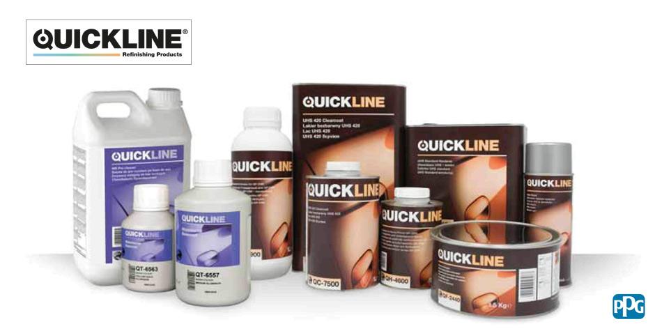 PPG - Quick Line autófesték  Új termékcsoport: PPG QuickLine ® ppg quick line