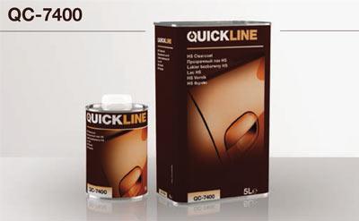 HS QC-7400 szintelen lakk  Quickline QC 7400