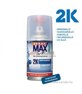 2K Spray Max Rapid Színtelen Lakk Spray - Fényes (250ml)