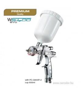 IWATA WS400 EVO Clear 1.5 EVO Pro Kit Fényezőpisztoly 1.5 (13244126EP)