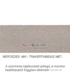 Mercedes Metallic Base Color: 693