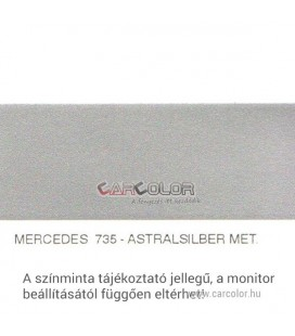 Mercedes Metallic Base Color: 735