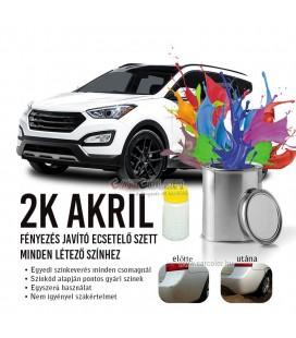 2K fényezés-javító autófesték stift Színkód Alapján - Akril Színek
