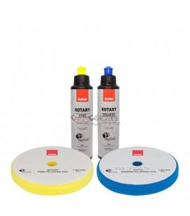 RUPES™ Polírszett - Polírpaszta + Polírszivacs Csomag (150mm)