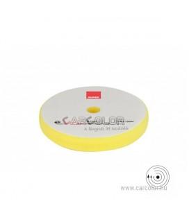 Polírszivacs hagyományos gépekhez - Ø130/135mm (Sárga)
