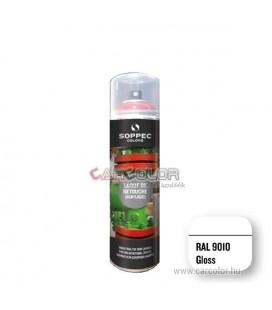 RAL 9010 Fényes Akril festék spray (400ml)