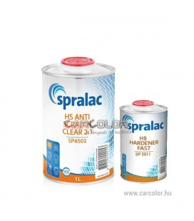SPRALAC SP4502 - HS Anti Scratch Clear 2:1 Set (1,5l)
