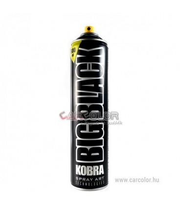 KOBRA Matt Fekete Akril festék spray (400ml)
