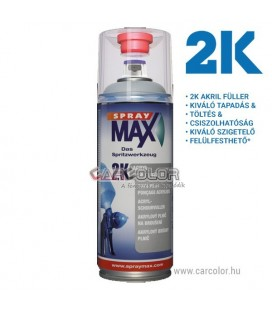 Spray Max 2K Akril Primer Spray - Szürke (400ml)