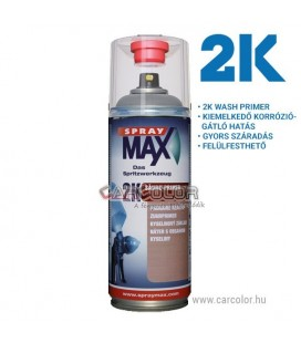 Spray Max 2K Wash Primer Spray - Szürke (400ml)
