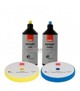 RUPES™ Hagyományos Polírszett - Polírpaszta + Polírszivacs Csomag Nagy (150mm)