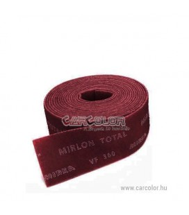 Mirka Abrasive Roll - Very Fine VF Red 360 - 115mm x 10m