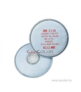 3M™ 05911 P1 Szűrőbetét, Trapézfilter (1Pár)