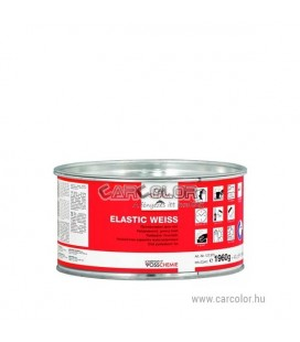 Elastic Weiss Polyester Fine Putty White (2kg)