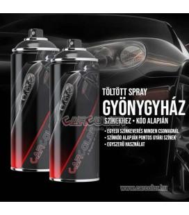 Töltött Spray Színkód Alapján 2 x 400 ml - Gyöngyház Színek (DE) Autó Javító Festék