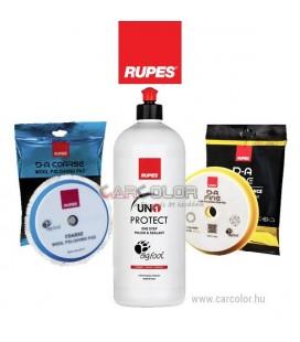 RUPES™ Egylépcsős Polírszett - Polírpaszta + 150mm Polírszivacs Csomag