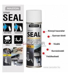 Maston Seal - Vízzáró, Tömítő Spray - Matt Fekete - (500ml)