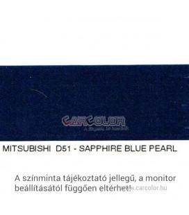 Mitsubishi Metál Bázis Autófesték Színkód: D51
