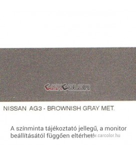 Nissan Metál Bázis Autófesték Színkód: AG3