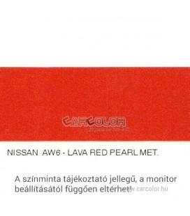 Nissan Metál Bázis Autófesték Színkód: AW6