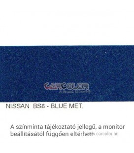 Nissan Metál Bázis Autófesték Színkód: BS8