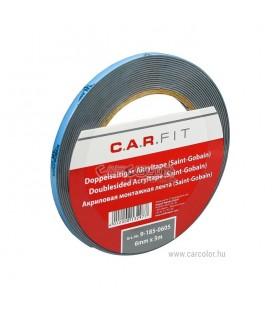 C.A.R. Fit Acrylictape Kétoldalas Ragasztószalag Saint-Gobain (6mm)