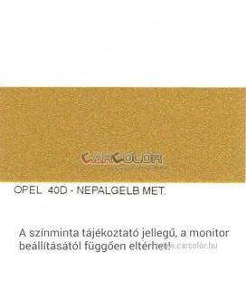 Opel Metál Bázis Autófesték Színkód: 40D