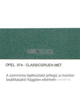 Opel Metál Bázis Autófesték Színkód: 374