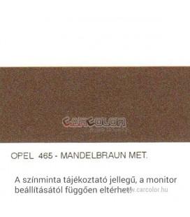 Opel Metál Bázis Autófesték Színkód: 465