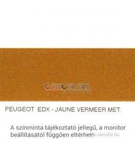 Peugeot Metál Bázis Autófesték Színkód: EDX