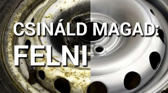 Csináld Magad Videó: Felnifelújítás otthon spray termékekkel