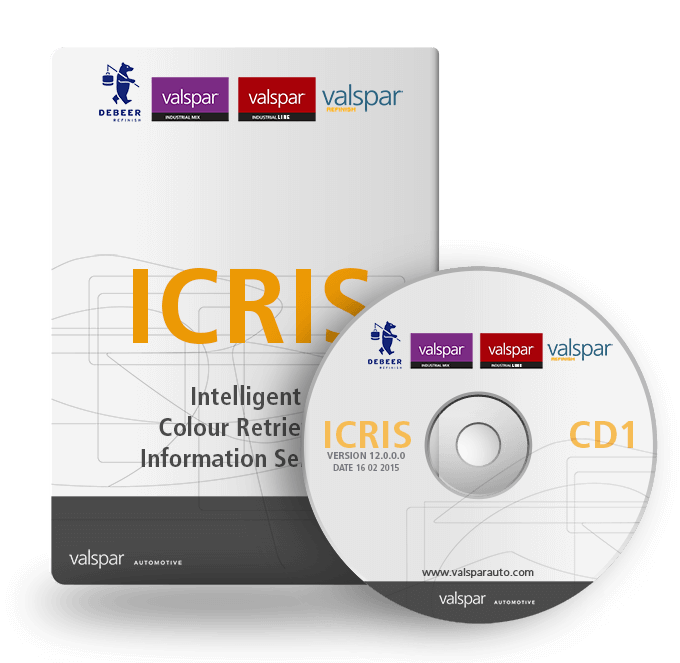 ICRIS színadatbázis és színkeverő rendszer