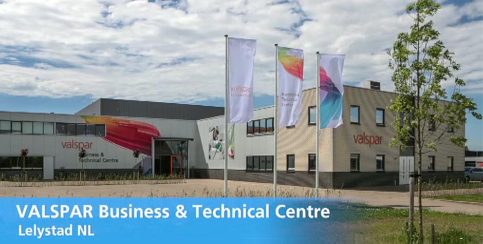 valspar_technical_centerl Átadták az új valspar business & technical centre épületét a hollandiai lelystadban Átadták az új Valspar Business & Technical Centre épületét a hollandiai Lelystadban valspar technical centerl
