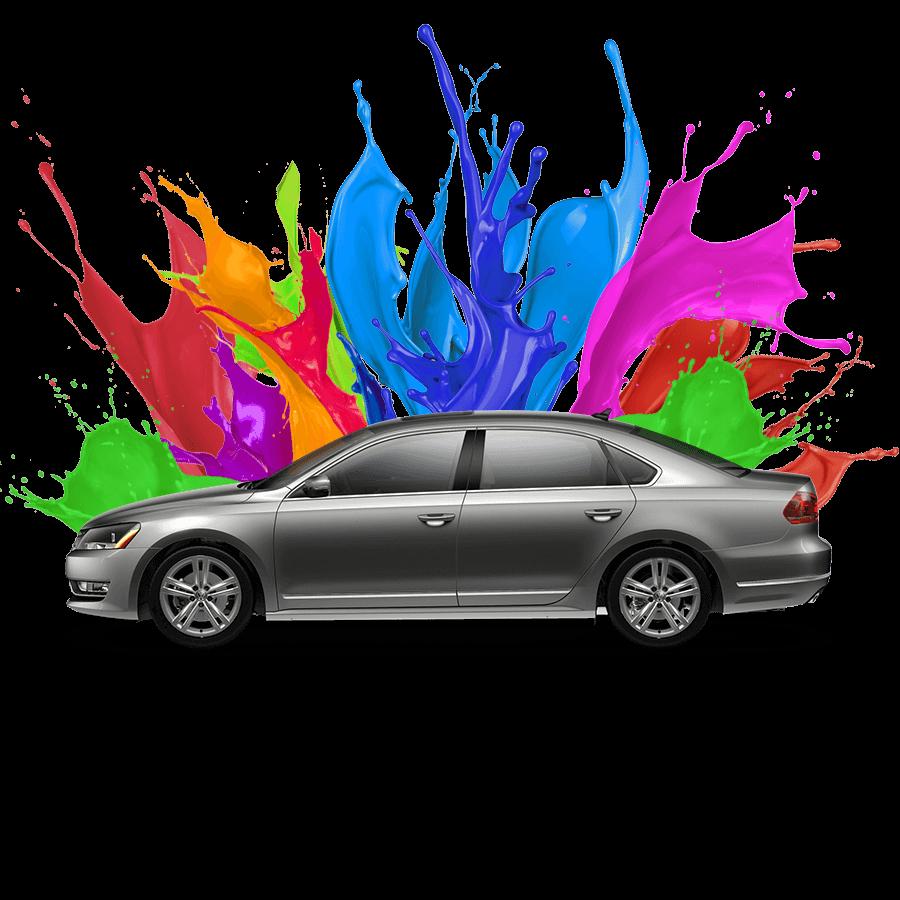 Autófesték színkeverés
