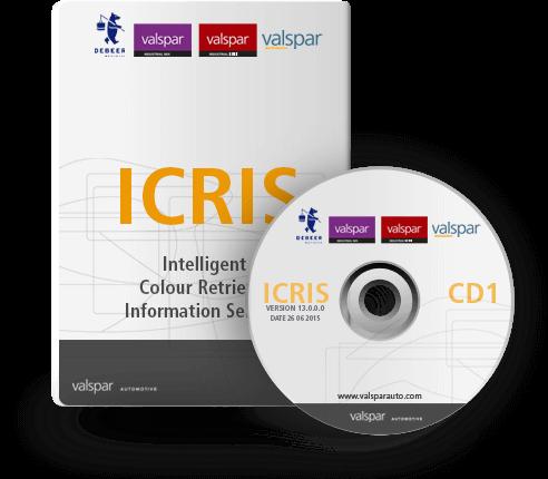 ICRIS színkeverő rendszer