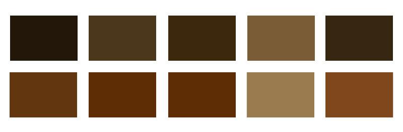 Forgalmi: 09 barna színkód