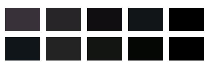 Forgalmi: 10 Fekete színkód