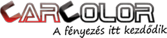 Car Color • Autófesték bolt és nagykereskedelem Logo